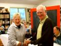Arthur Accepting Dale\'s Heaviest Elephant Fish Trophy