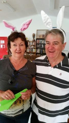 270.Mr & Mrs Easter Bunney