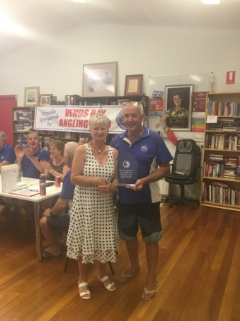 Lesley Jowett Club Member of the Year 2017