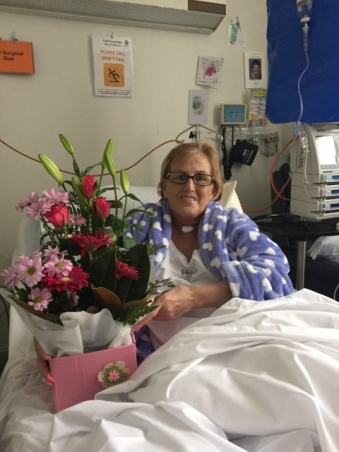 Kathleen on the mend