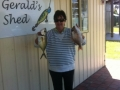 Roslyn's 3rd placed Trevally and a nice pinky