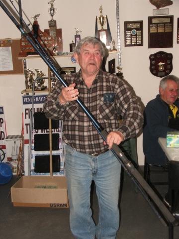 Doug Grigg raffle prize