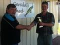 Mick & Doug 1st Place trophy